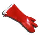 "Three-Finger Sili Glove, 18"" long"