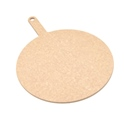 "12"" Round Pizza Board, Natural"