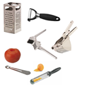 Grater / Peeler / Rasp / Garlic Press / Ricer