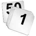 4 x 4 Table Numbers 1 to 50