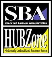 SBA Certified HUBZone (Historically Underutilized Business Zone) company